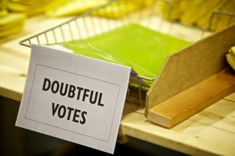 Doubtful votes indeed. Photo: Coventry City Council